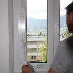 Montaggio finestre Rehau-finiture-pellicola-protezione