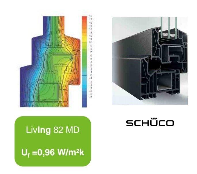 Fenster Schüco Living